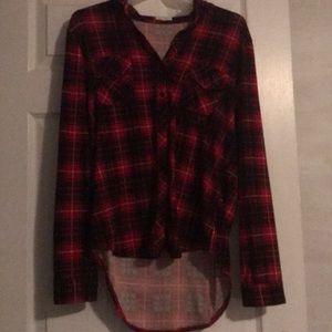 Plaid casual shirt